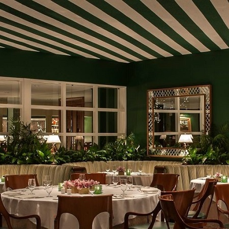 The Polo Lounge Restaurant